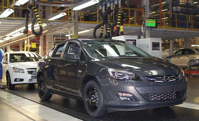 General Motors остановит свой завод вРоссии доноября