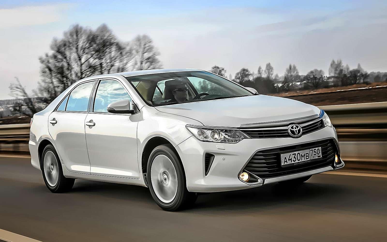 Hyundai Sonata или Toyota Camry— выбор ЗР— фото 810003