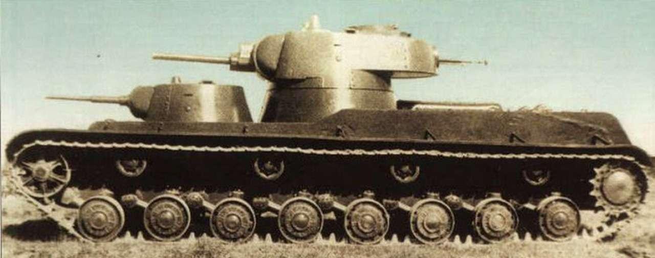 Экспериментальный советский танк: финны свинтили крышку люка— фото 1089022