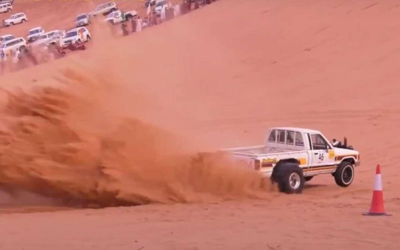 Арабский дрэг-рейсинг: возможно, самые дикие машины в мире (видео)