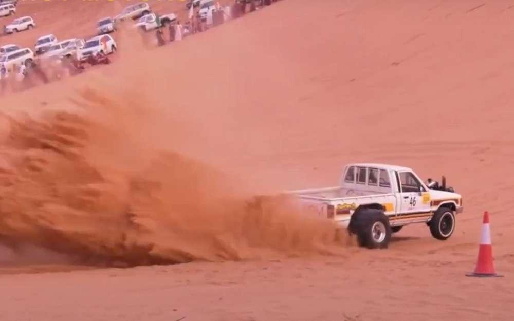 Арабский дрэг-рейсинг: возможно, самые дикие машины вмире (видео)