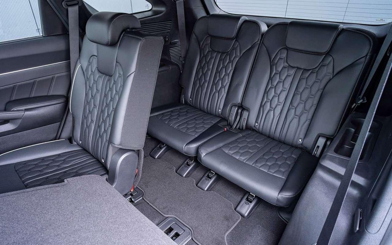 Новый Hyundai Santa Fe: 7важных отличий отKia Sorento— фото 1241390