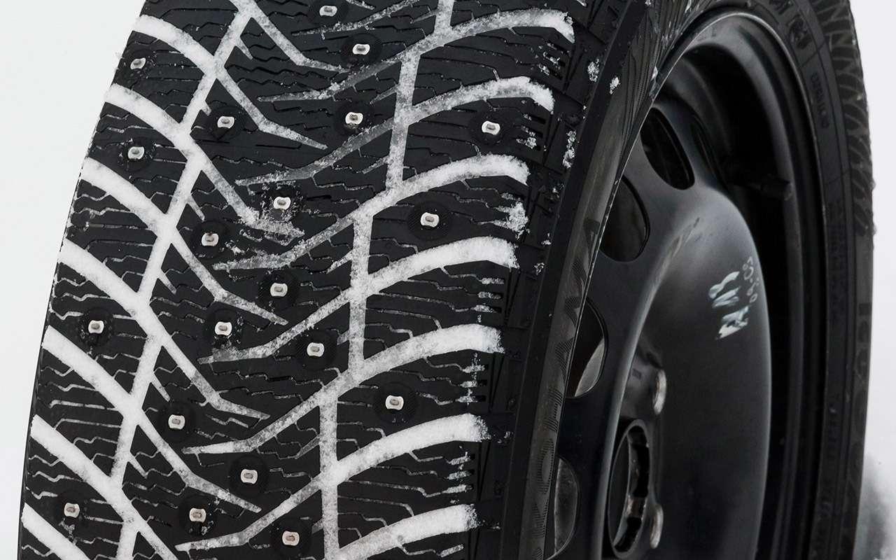Большой тест шипованных шин: дорогие, подешевле и«никакие»— фото 1003247