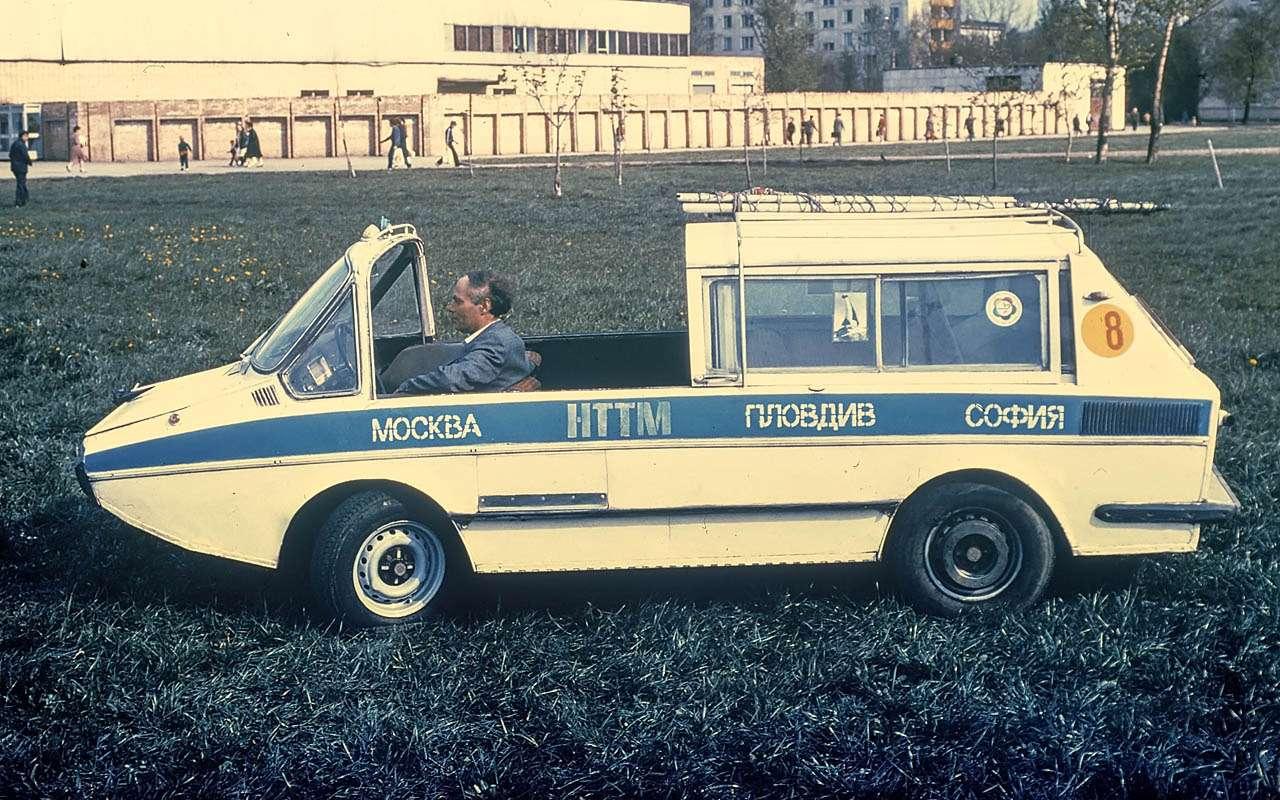 15уникальных самодельных автомобилей времен СССР— фото 809926