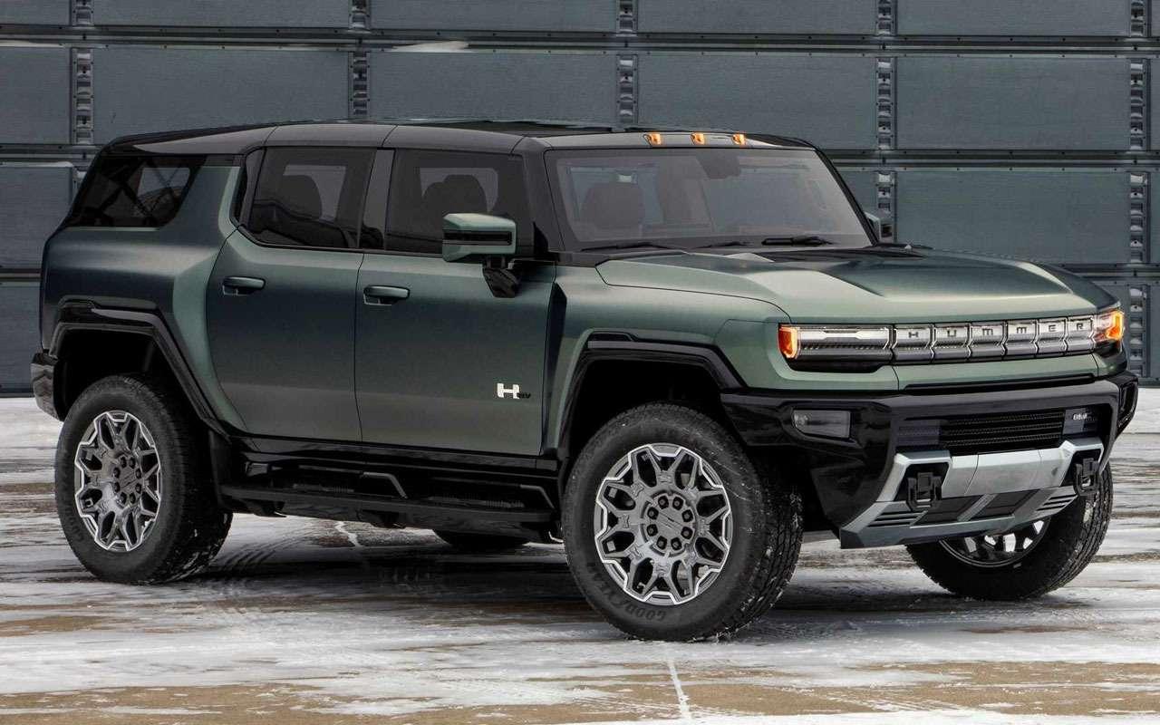 Новый внедорожник Hummer— характеристики ицены— фото 1236824