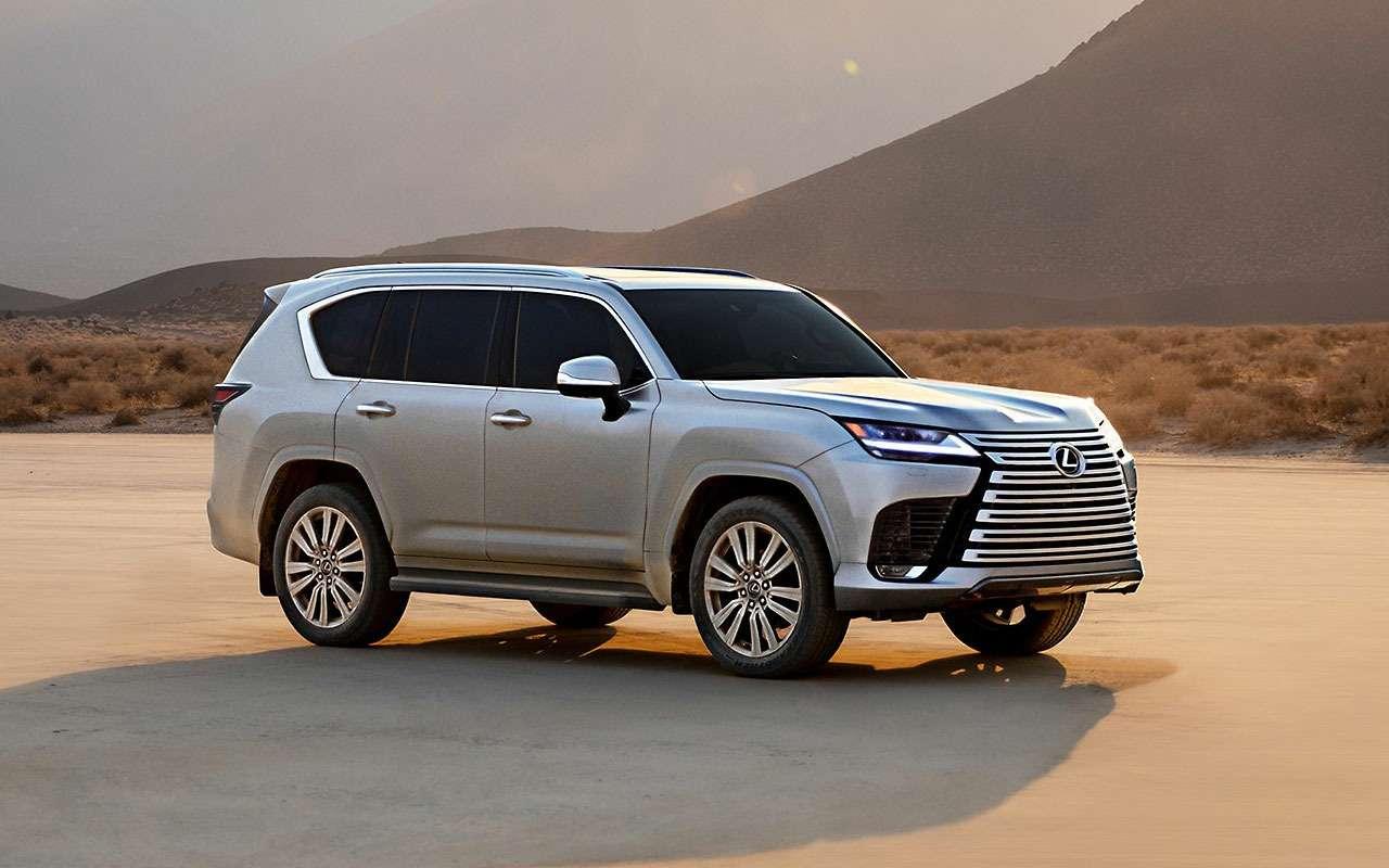Lexus представил новый LX 600 - фото 1284966