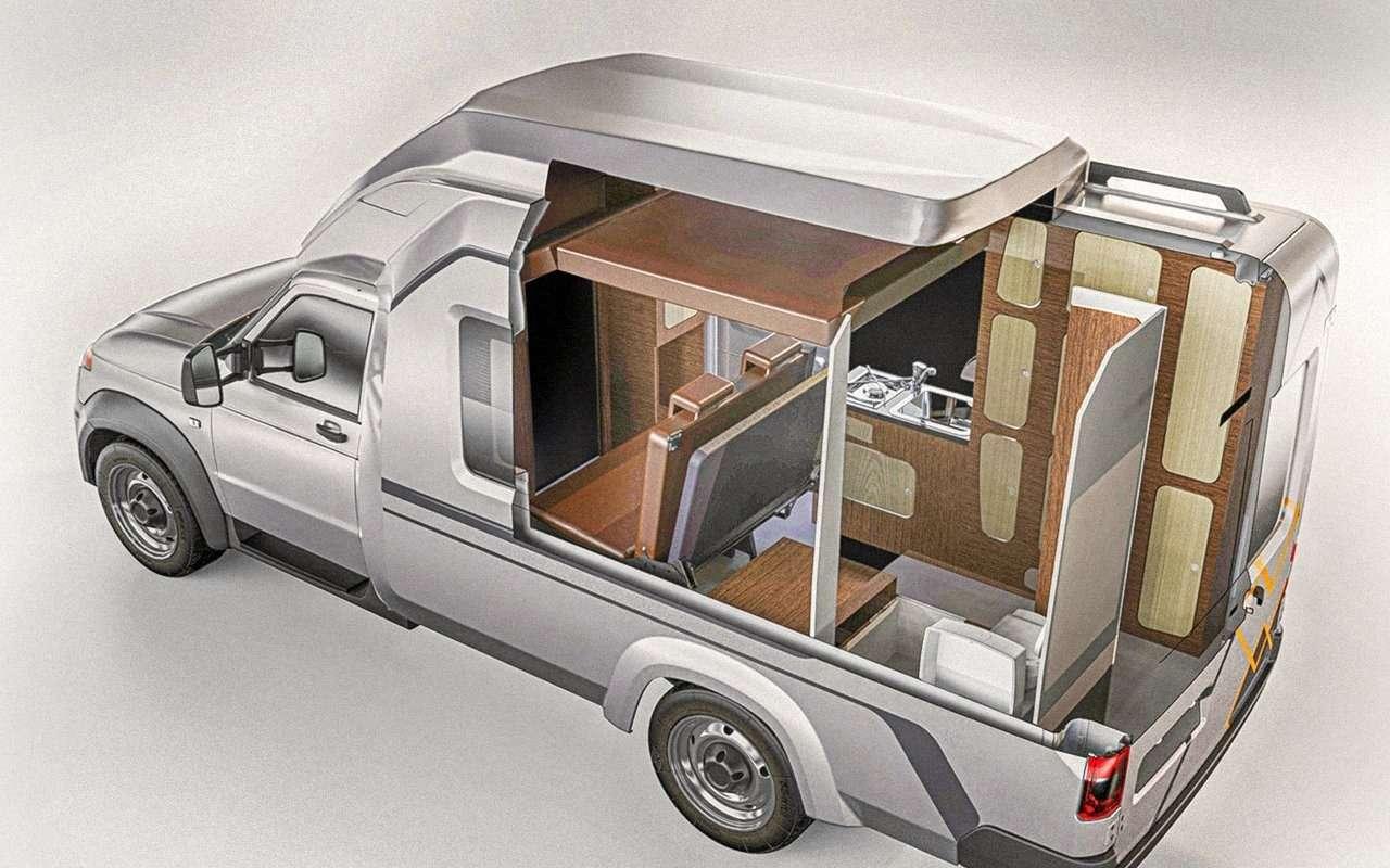 Автодом УАЗ Профи— новые подробности— фото 1265880