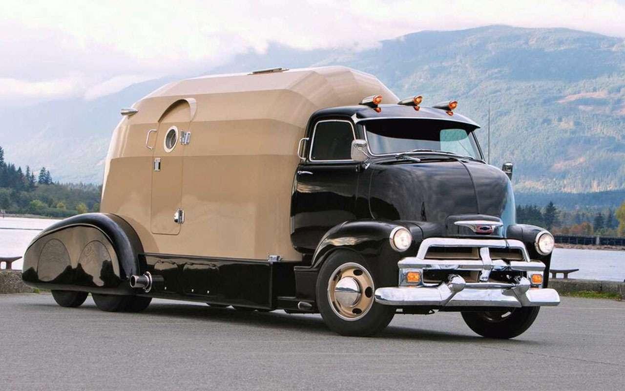 Кастомный Chevrolet Tourliner 1954 года— дом набазе хот-рода— фото 1030663