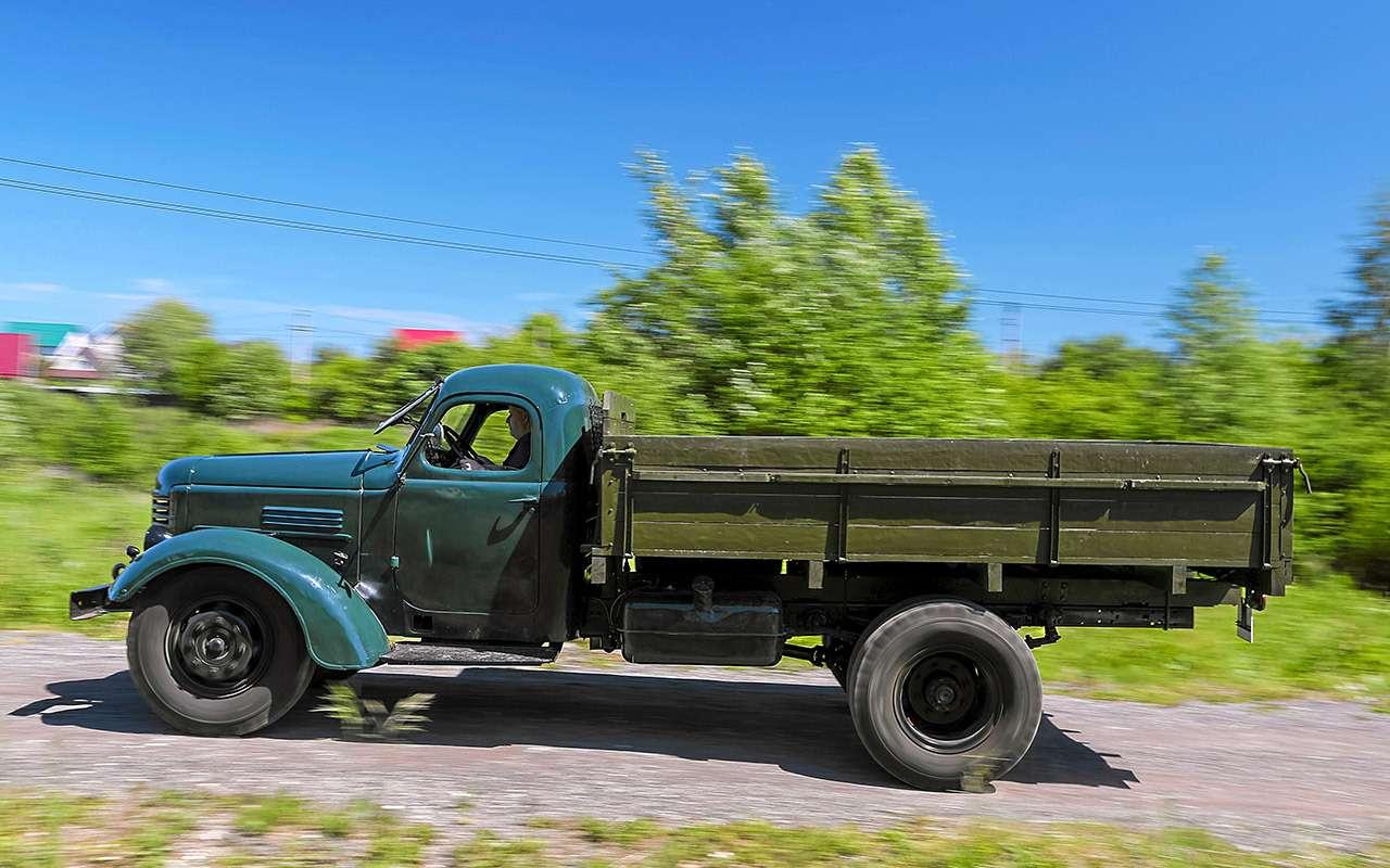 Заслуженный грузовик СССР— ретротест ЗИС-150— фото 1150088