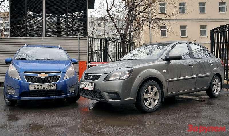 Chevrolet Spark vsKia Rio