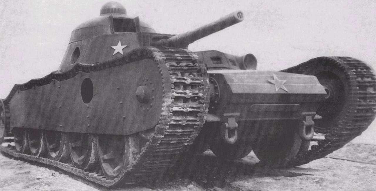 Секретная разработка немцев дляСССР— наш самый тяжелый танк— фото 1013907