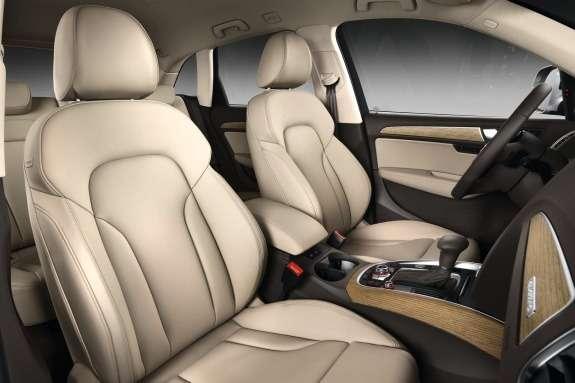 Facelifted Audi Q5inside