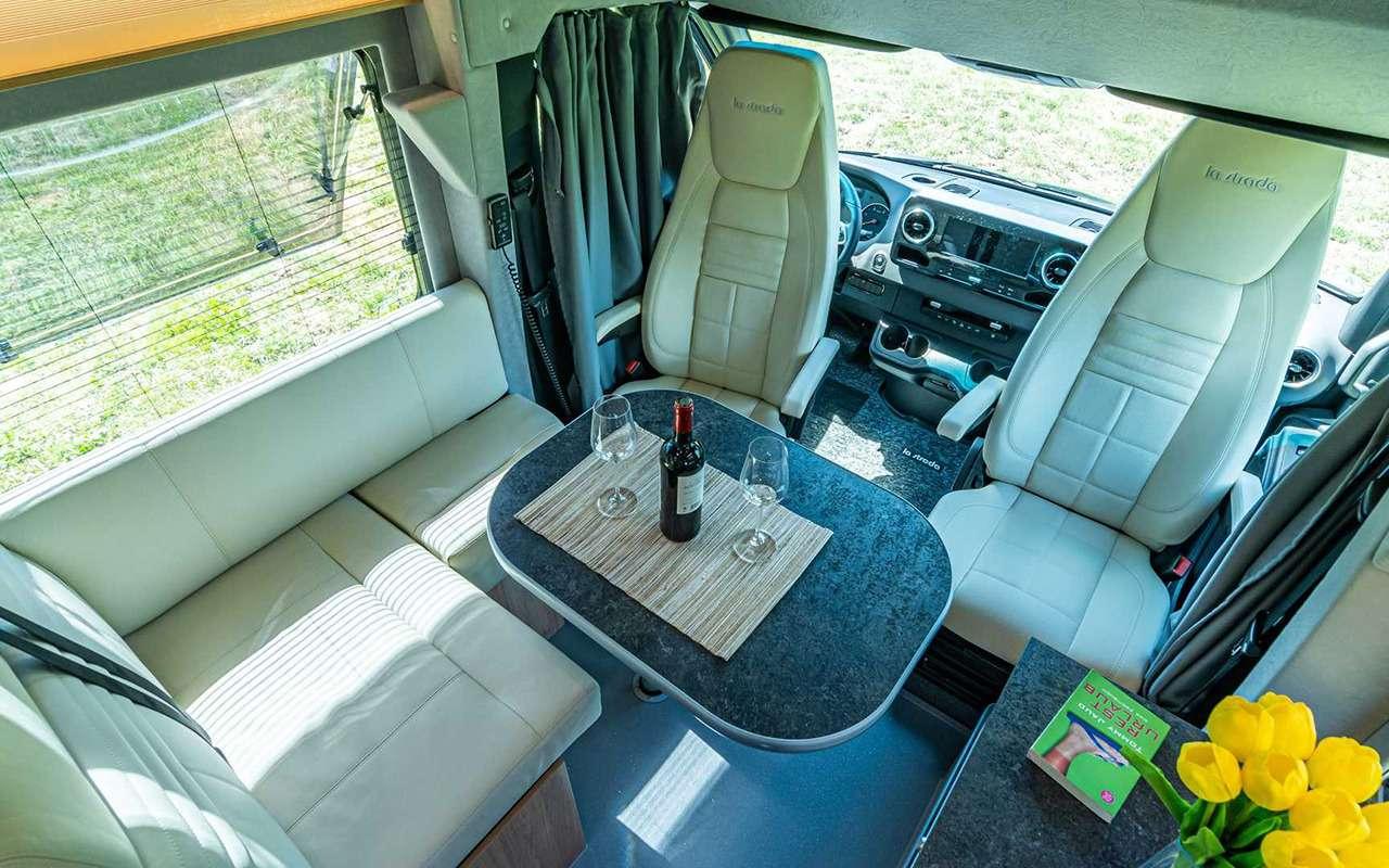 Sprinter превратили в дизайнерский автодом - фото 1166501