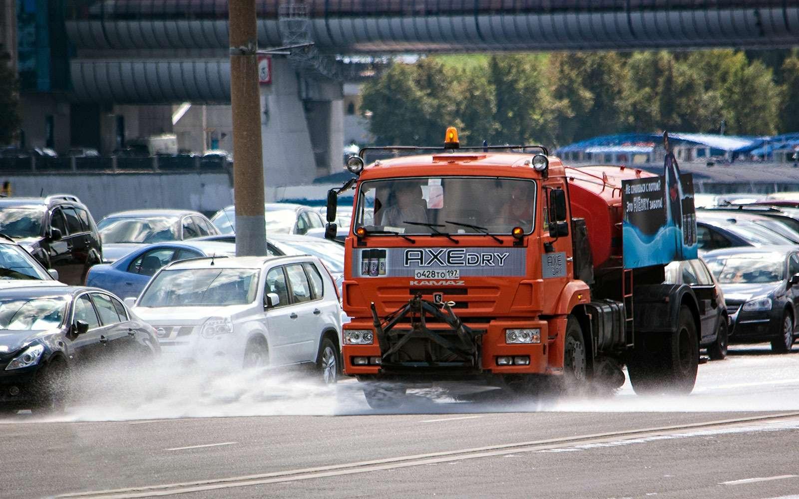 Поливальные машины— награни добра изла— фото 638108