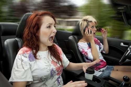 Distracted dangerous driving
