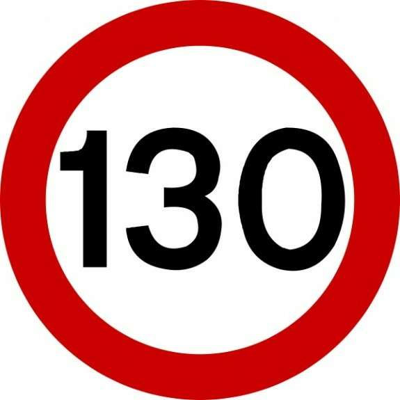 traffic sign 130 no copyright