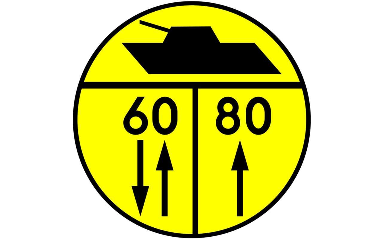 В Европе появились новые дорожные знаки. Что они означают?— фото 871293