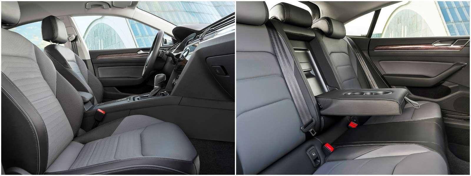 Volkswagen Arteon— первый тест-драйв— фото 768850
