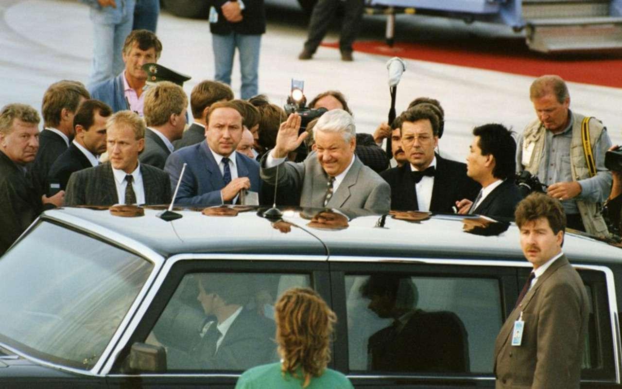 Бронированный лимузин Горбачева иЕльцина— как его строили— фото 1144868