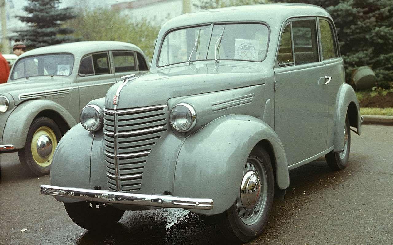 Самые редкие серийные автомобили СССР— фото 868840