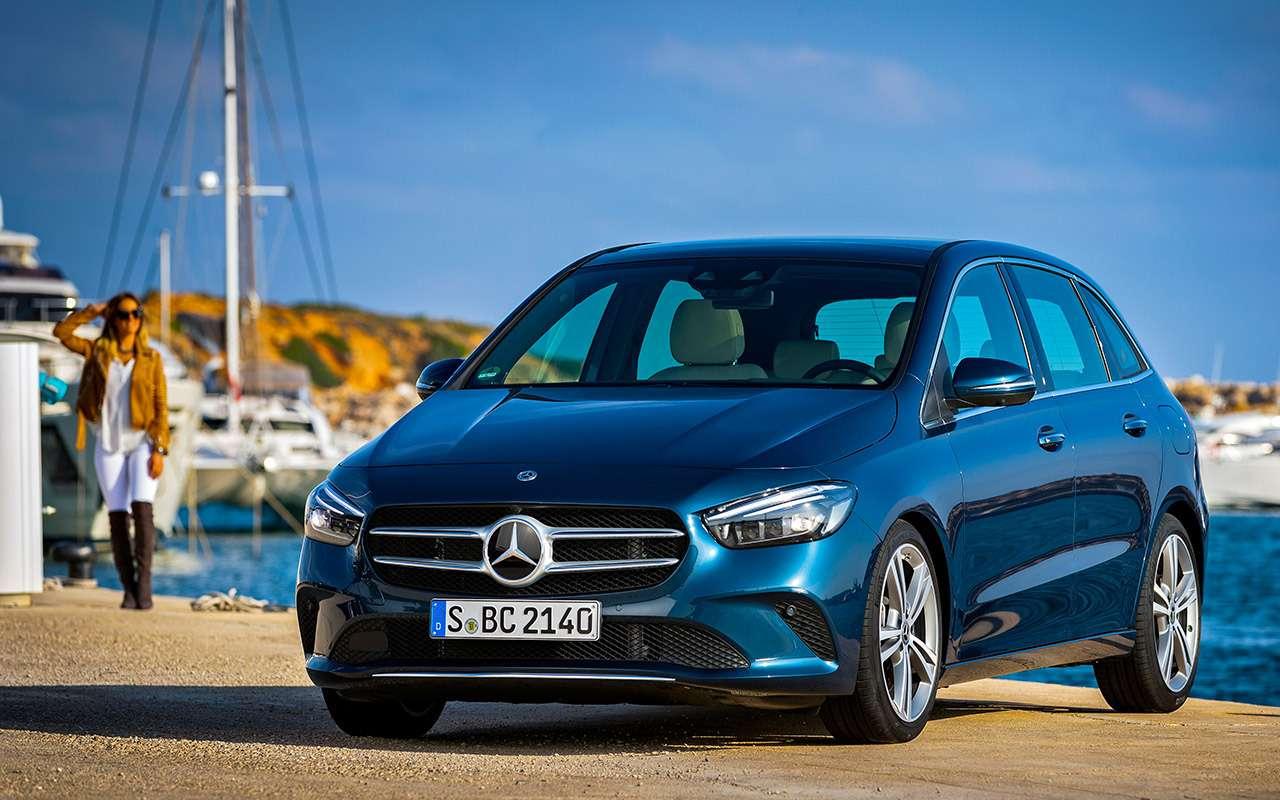 Новый Mercedes-Benz B‑класса: его научили угадывать настроение водителя— фото 939082