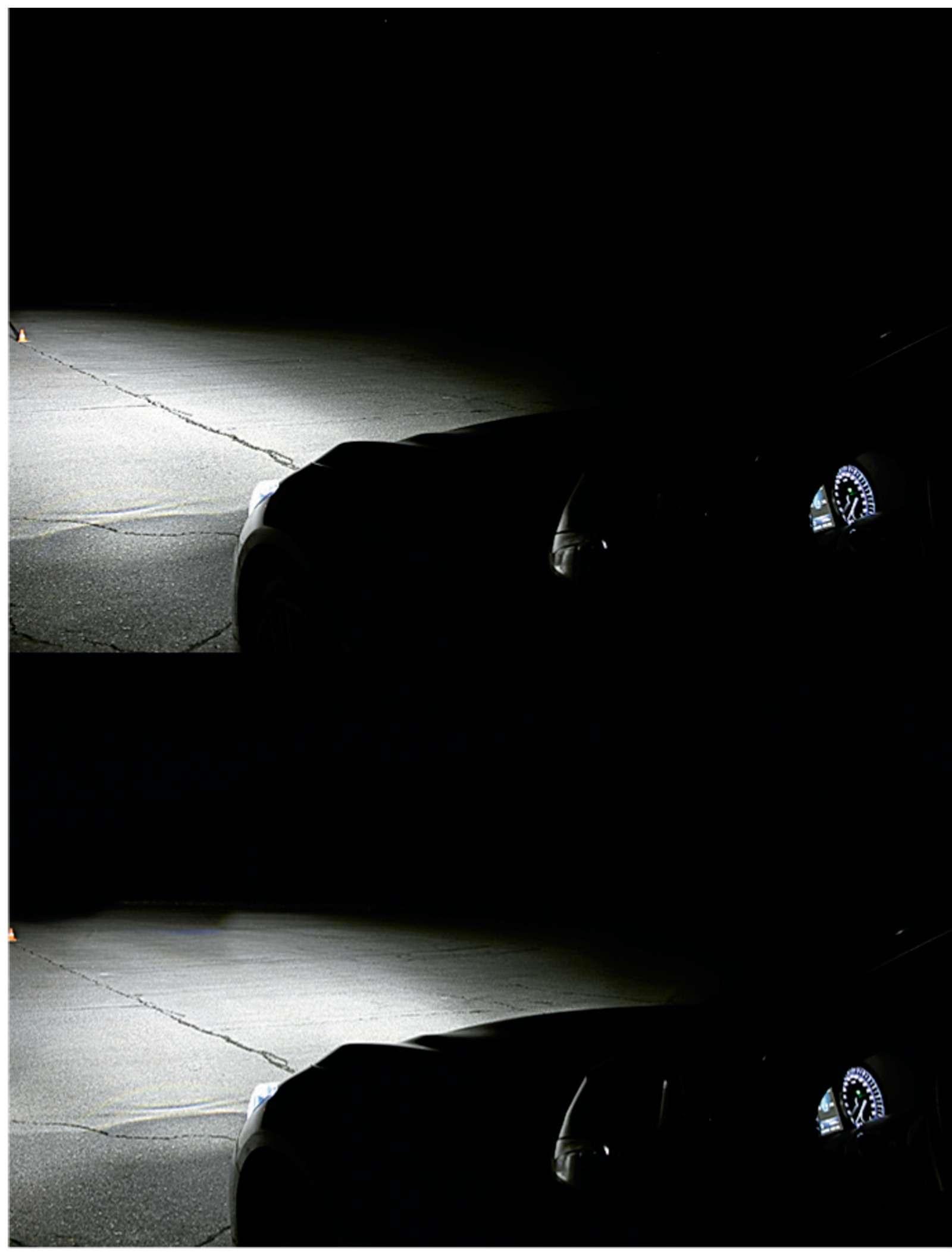 Супертест светодиодных фар: какая из10машин заглянет дальше?— фото 601092
