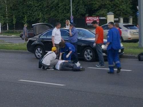 Мercedes иркутского губернатора исбитый мужчина_no_copyright