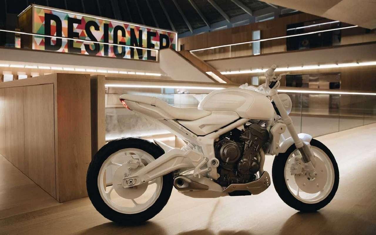 Мотоцикл Triumph Trident: первые фото концепта— фото 1163186
