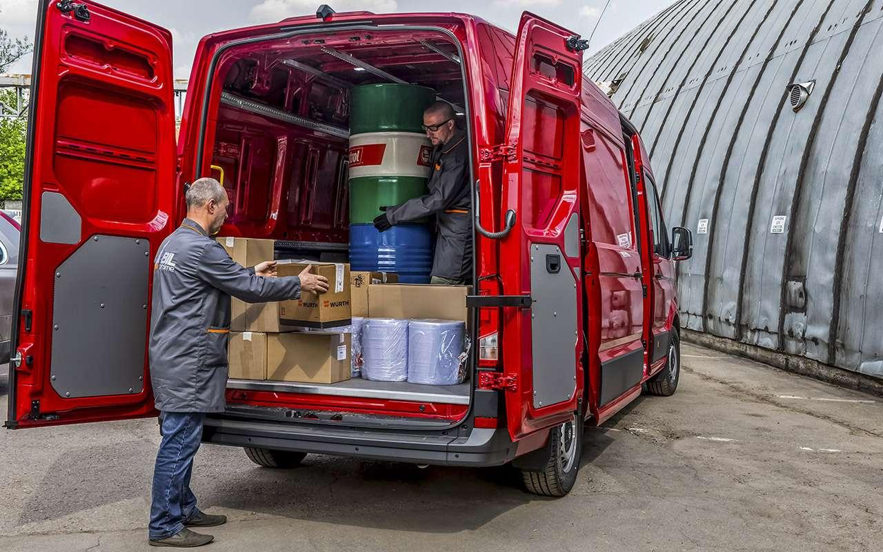 Volkswagen Crafter— тест поднагрузкой— фото 975593