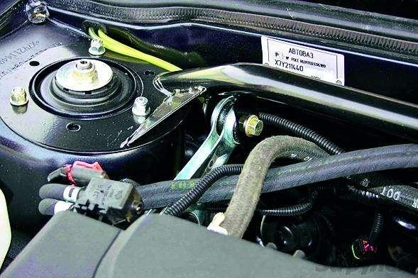 Полукровка: Samara сдвигателем Priora— фото 92902