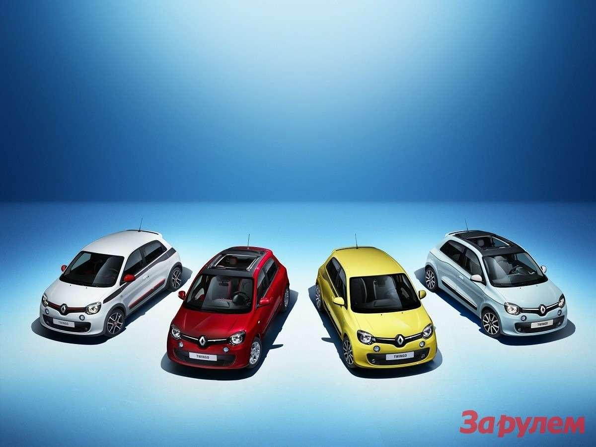 Renault представил новый Twingo иограниченную серию Clio RS