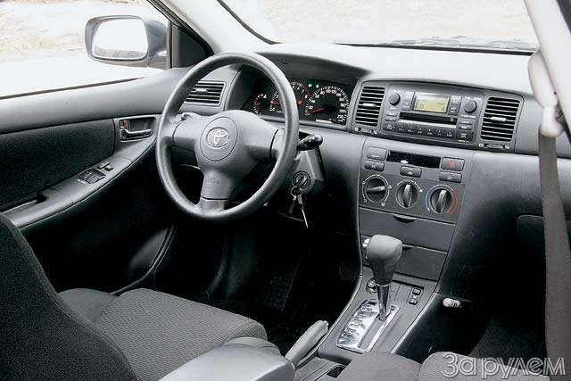 Toyota Corolla изтрейд-ин. Вечный двигатель— фото 62813