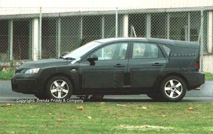 Новую Mazda3 засняли взащитном камуфляже— фото 33590