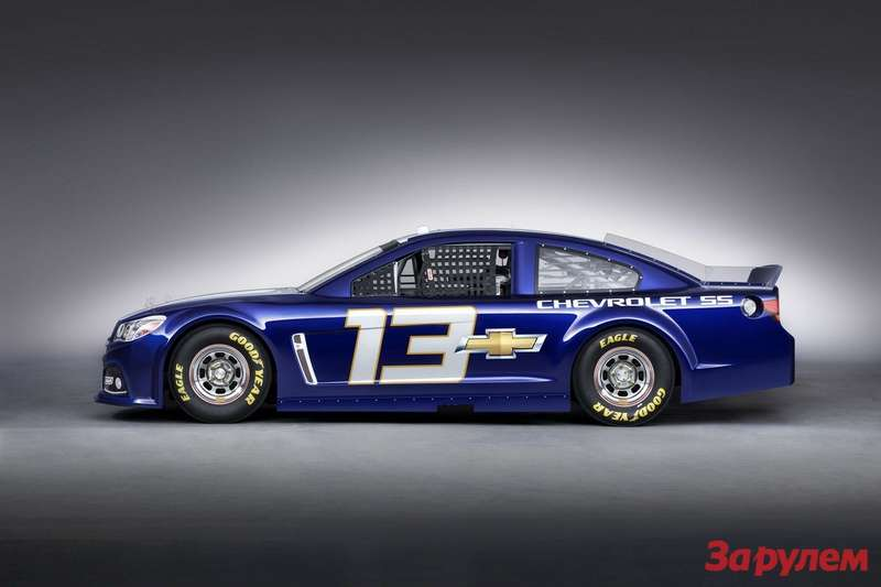 Chevrolet SS NASCAR Sprint Cup car side view