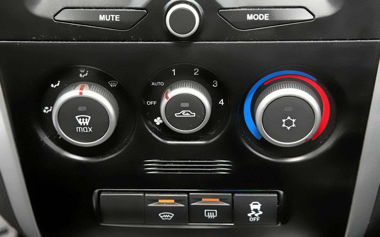 климат-контроль Datsun
