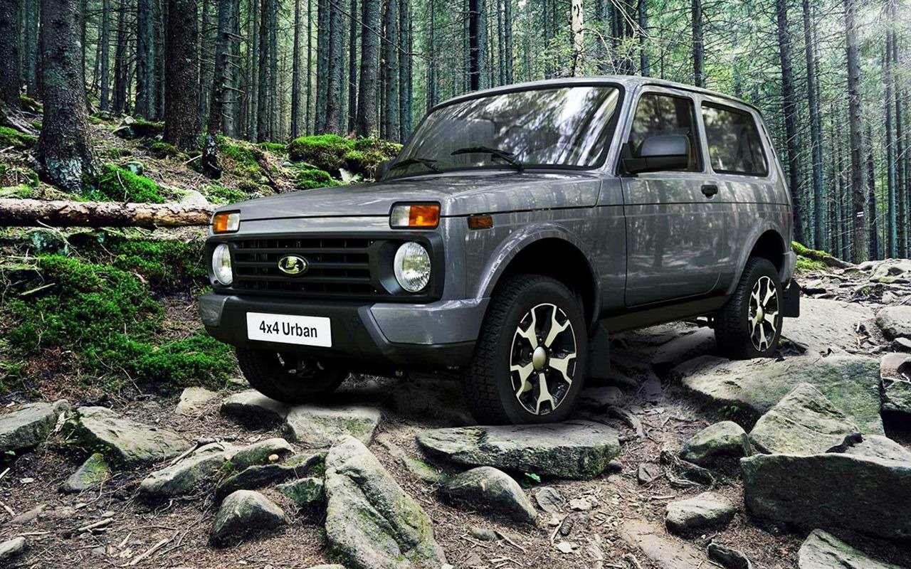 Lada 4x4: лучшее, что сней произошло за42года— фото 961010