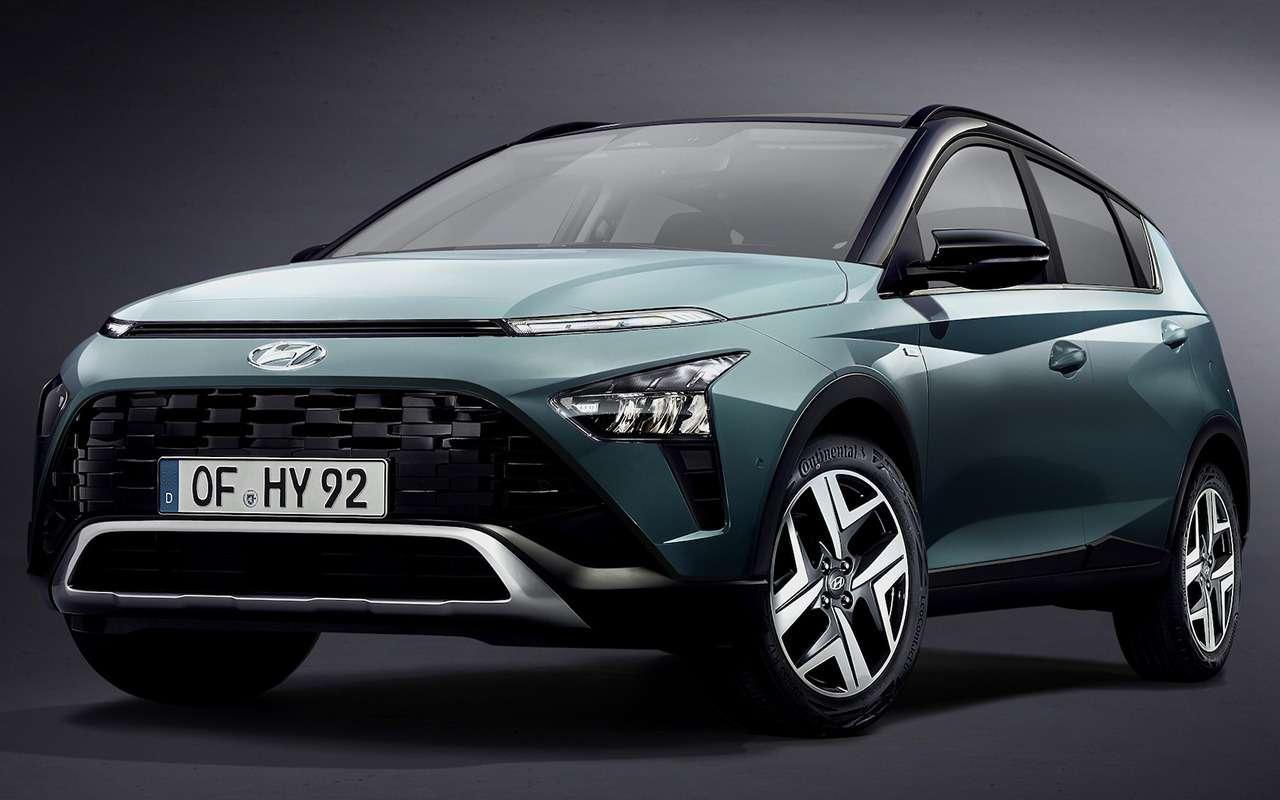 Кроссовер Hyundai Bayon: создан недлябездорожья— фото 1227589
