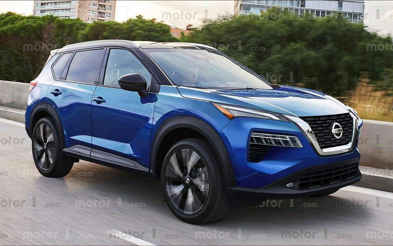 Nissan запатентовал изображения нового X-Trail— фото 1112996