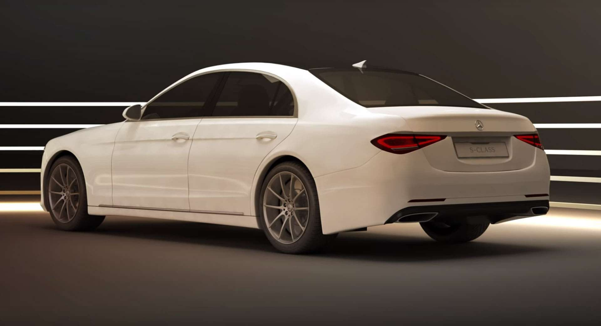 Слив Mercedes-Benz S-class