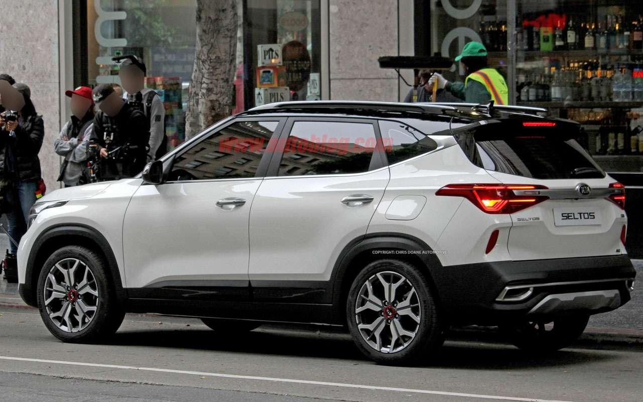 Новый конкурент Hyundai Creta: первые фото Kia без камуфляжа— фото 977466