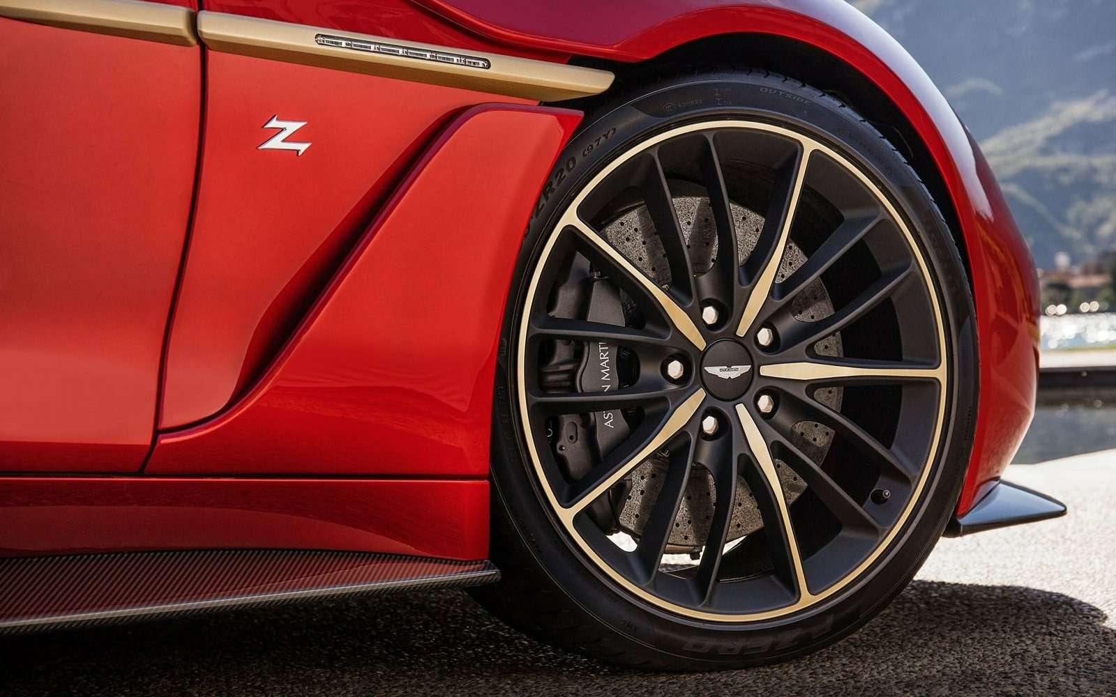 Этакрасота должна жить: Aston Martin Vanquish Zagato запустят впроизводство— фото 600878
