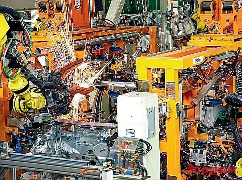 Оборудование завода VWвКалуге гарантирует немецкое качество
