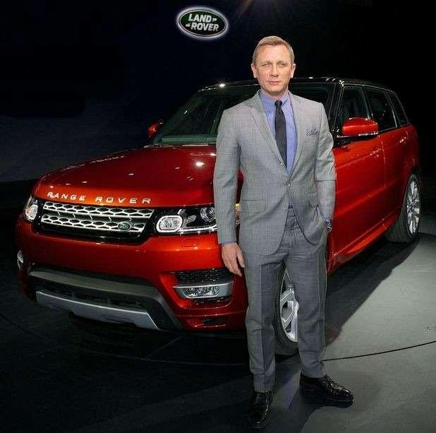 Джеймса Бонда лишили 5внедорожников Range Rover Sport