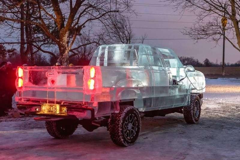 Ледяной пикап Canadian Tire