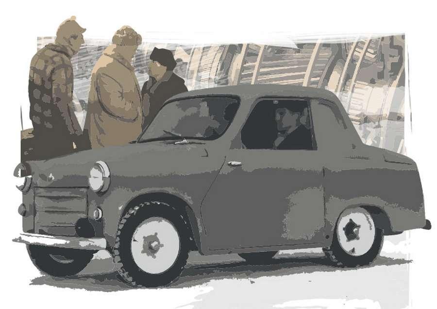ГАЗ без педали сцепления— неизвестная модель советского автопрома