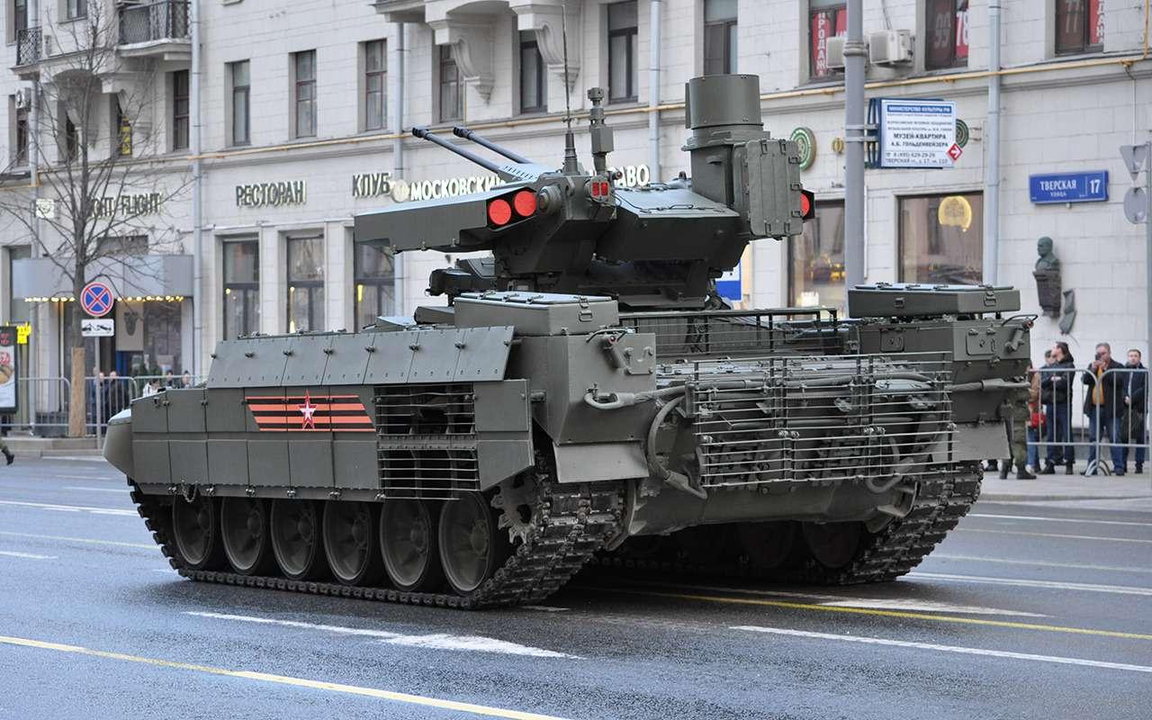 Танк дляподдержки танков— аналогов вмире снова нет!— фото 891774
