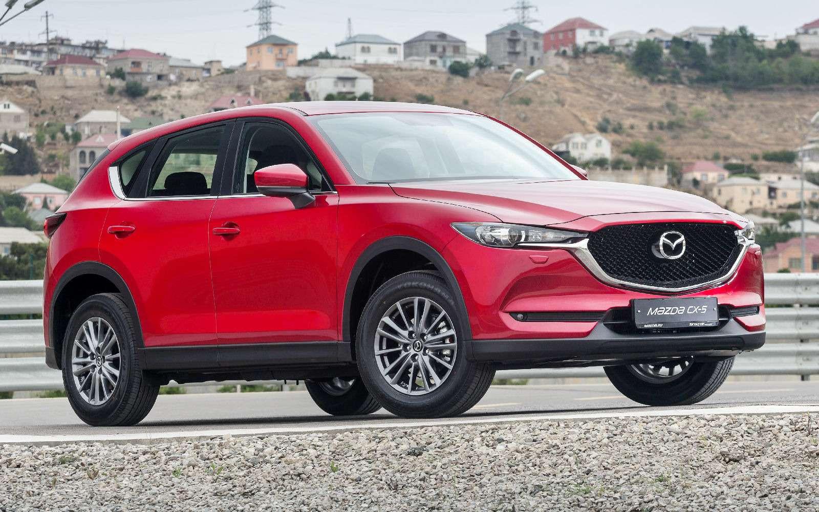 Mazda объявила рублевые цены накроссовер CX-5 второго поколения— фото 766912