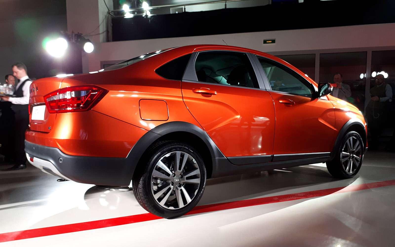 Представлена новая модель Lada. Иэто снова Cross— фото 863338