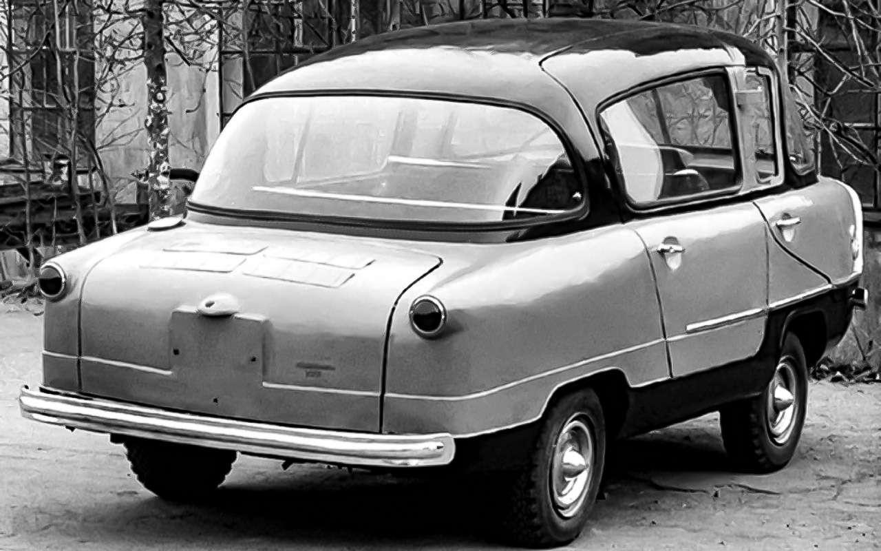 13народных автомобилей СССР, которых какбы не было— фото 1001093