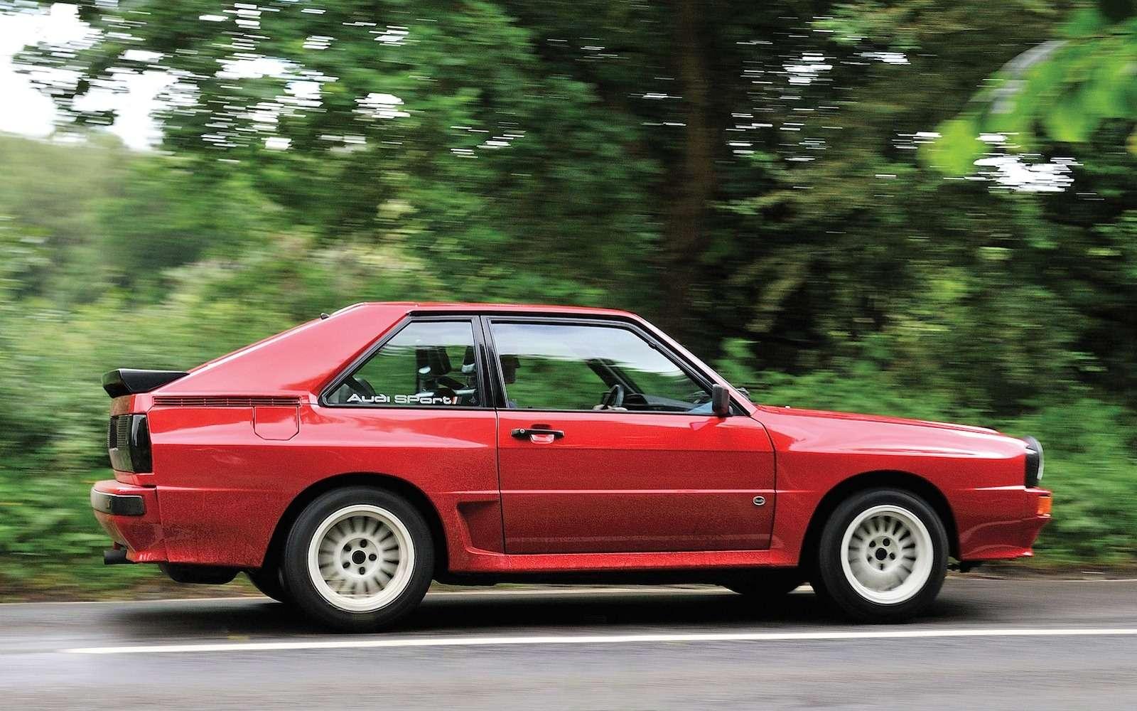 Драгоценный коротыш: легендарный Audi Sport quattro продан забешеные деньги— фото 632241